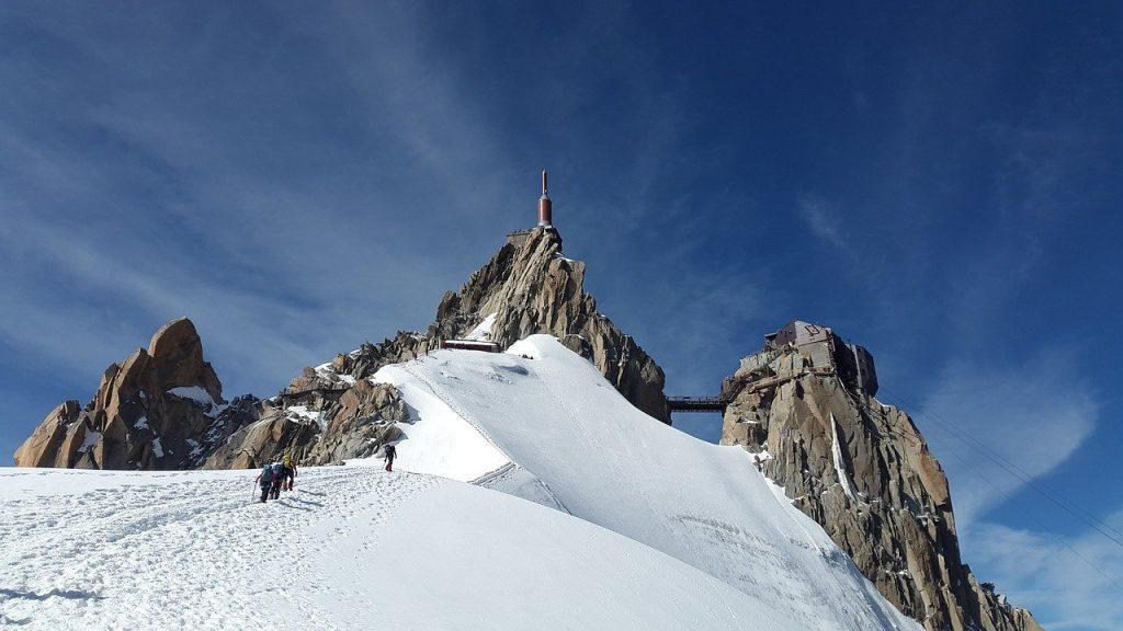 Mont Blanc, le toit de l'Europe